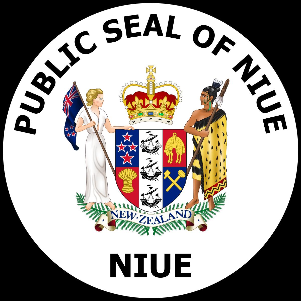 Niue customs emblem