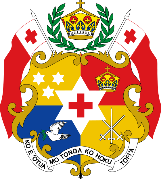 Tonga customs emblem