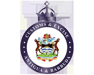Antigua and Barbuda customs emblem