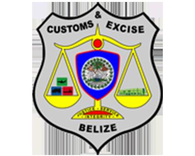 Belize customs emblem