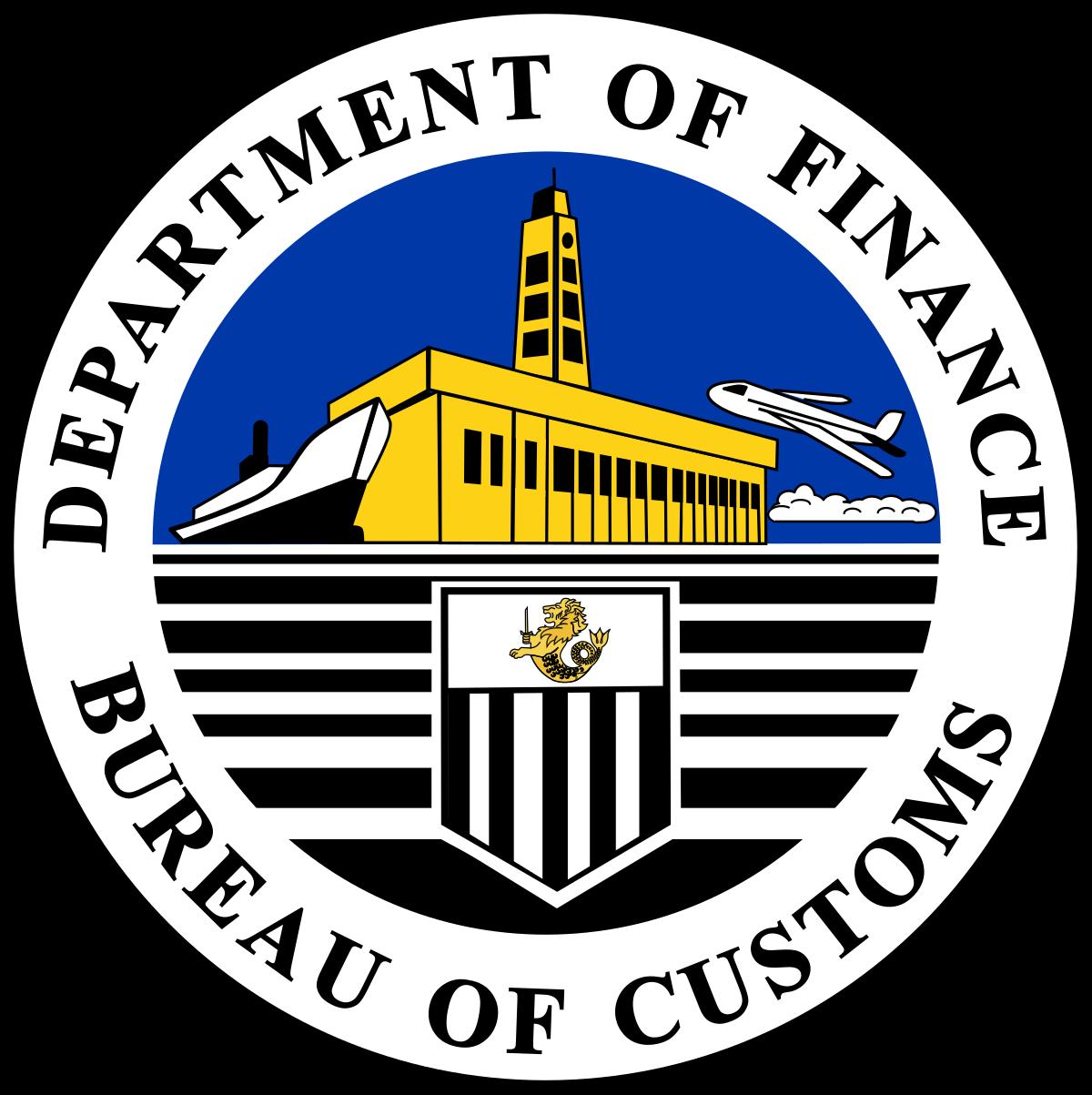 Philippines customs emblem