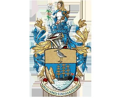 Saint Helena customs emblem