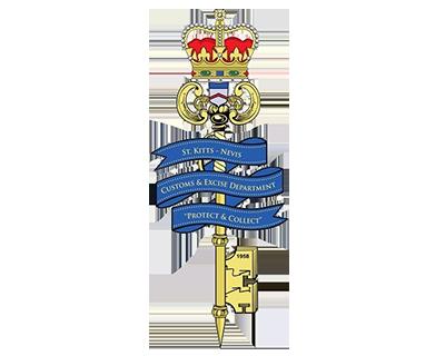 Saint Kitts and Nevis customs emblem