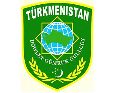 Turkmenistan customs emblem