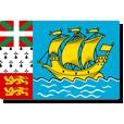Saint Pierre et Miquelon flag